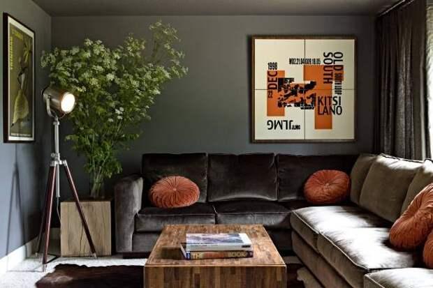 Осенние краски в дизайне интерьера