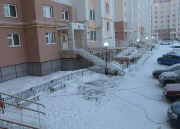 Вот для чего суровые сибирские водители тянут к машинам провода из квартир
