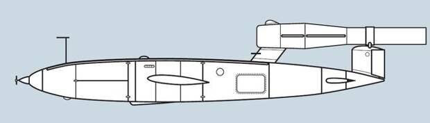 Проекты первого поколения: самолет-снаряд 10X