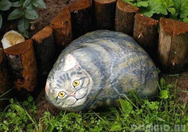 Забавные скульптуры для сада: веселые идеи для вдохновения