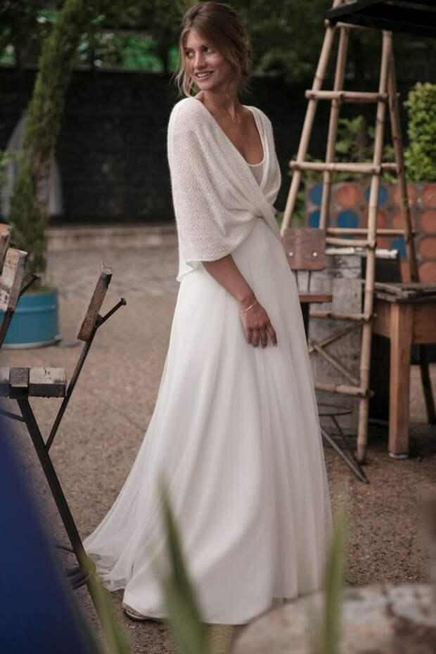 что связать своими руками для невесты свадебного платья