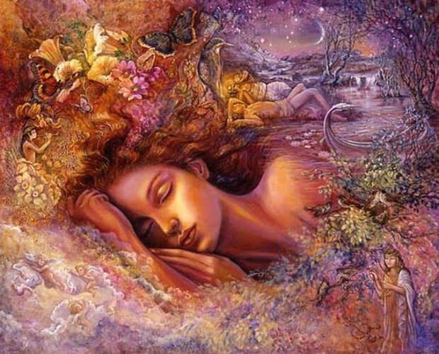 Что означают цвета во сне