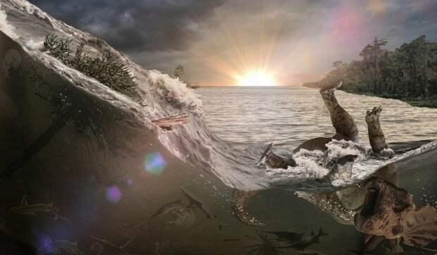 Палеонтологи рассказали, каким был последний день динозавров