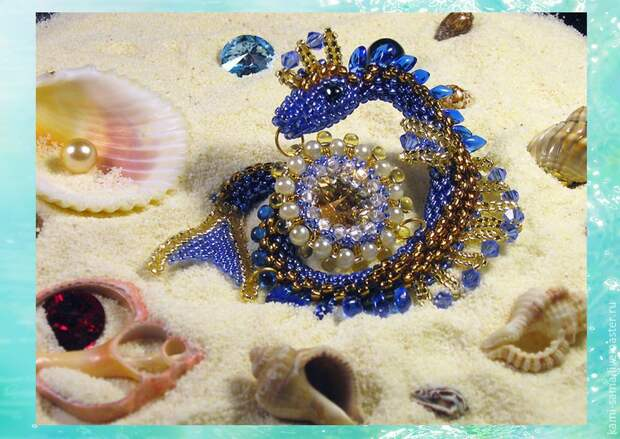Мастер-класс: плетём морского дракончика