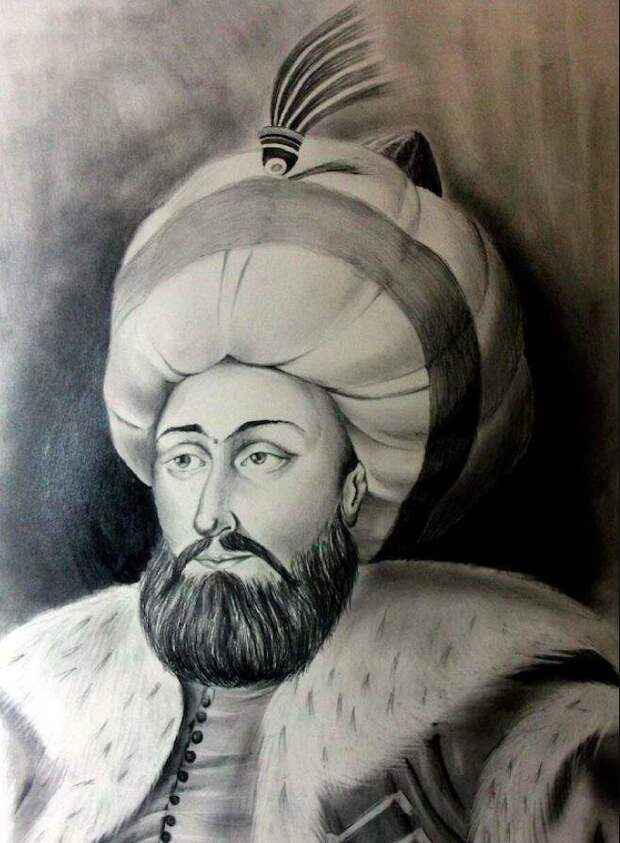Великие правители Османской империи Мехмед II Фатих 1453г