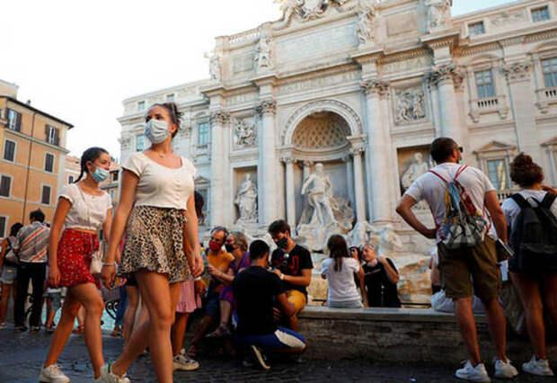 Италия: штраф 2 000 евро за ношение маски без необходимости