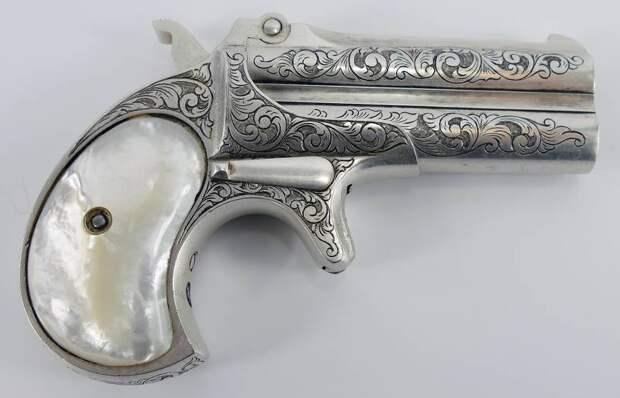 Пистолеты для муфты, башмаков и… жилетного кармана!