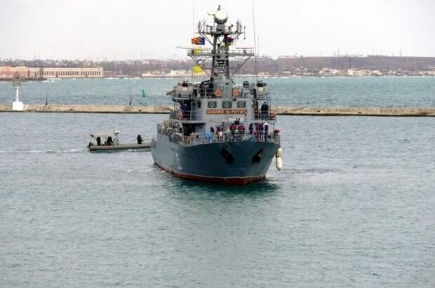 Корабль береговой охраны США Hamilton зашел в одесский порт