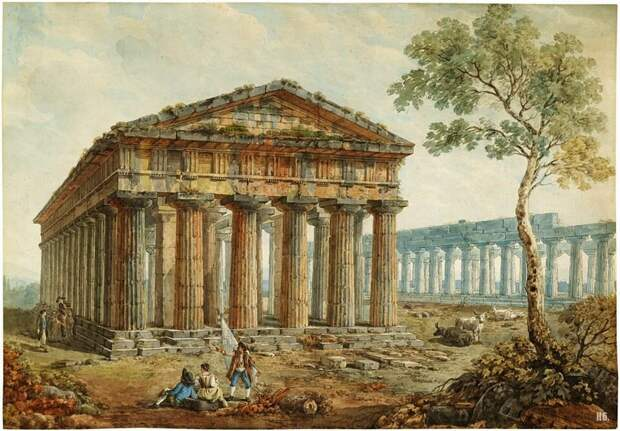 Невероятные руины XVIII века на картинах Авраама Дюкро