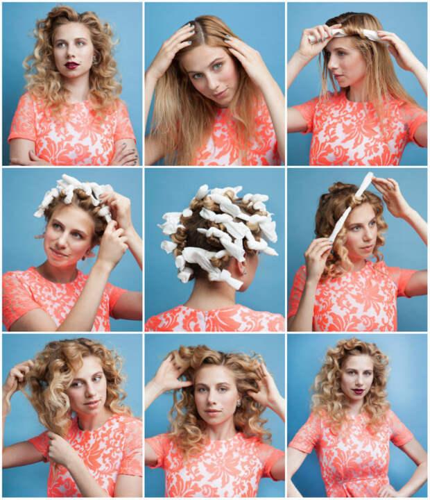 Локоны на средние волосы в домашних условиях, как делать кудри на средние волосы: фото, инструкция, советы