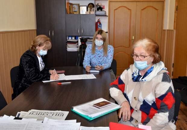 Глава администрации Черноморского района провел прием граждан