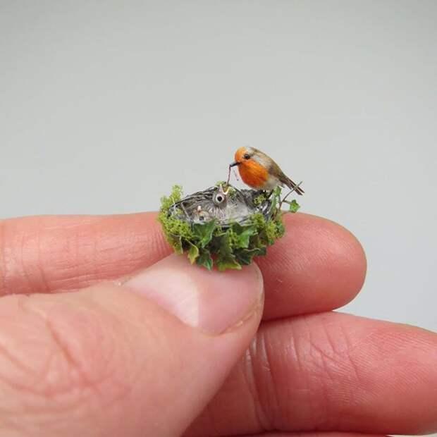 Удивительные реалистичные миниатюры животных