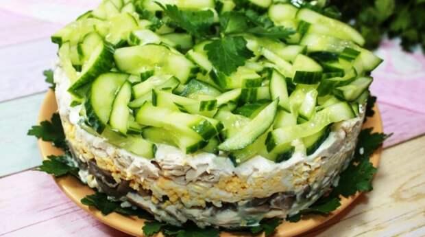 Известный салат в новой интерпретации! Салат на Новый год преобразит ваш стол и придаст свежести и яркости