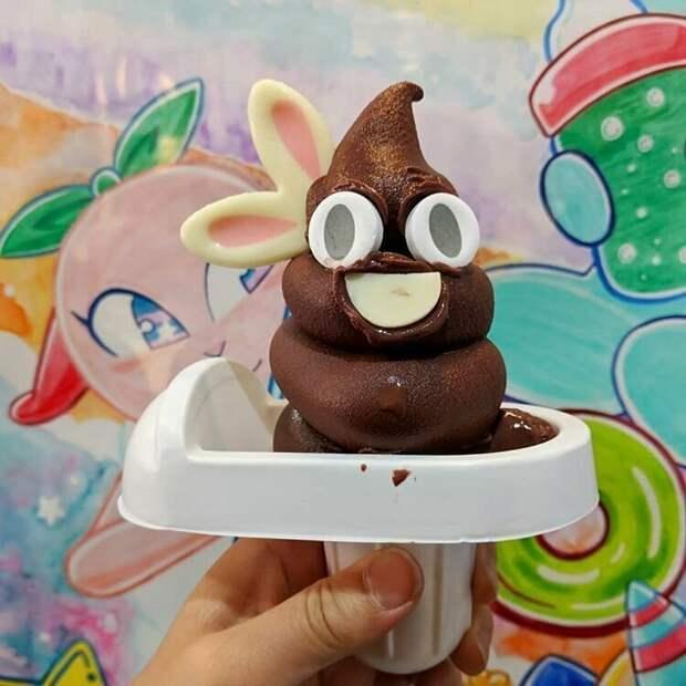 Эмоджи-мороженое жизнь, подборка, странность, фотография, фотомир, явление, япония