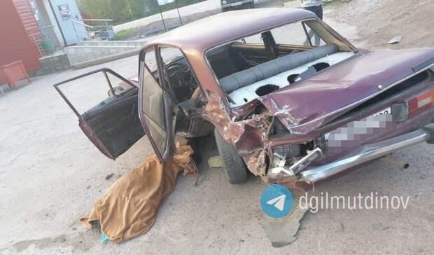 В Башкирии в результате аварии погиб мужчина