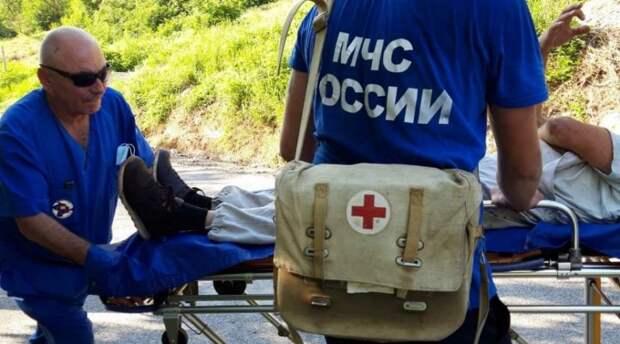 Мужчина потерял сознание в Крымских горах
