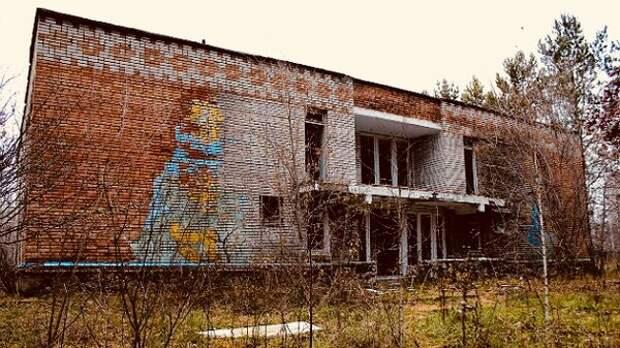 Россия 90-х: империя заброшенных пионерлагерей