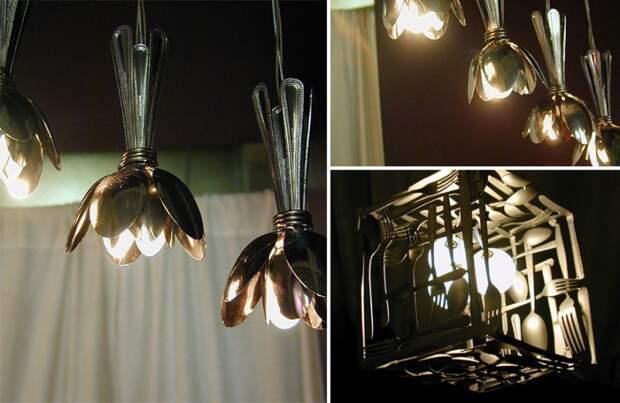 Необычные лампы из старого мусора. Домочадцы очень удивятся