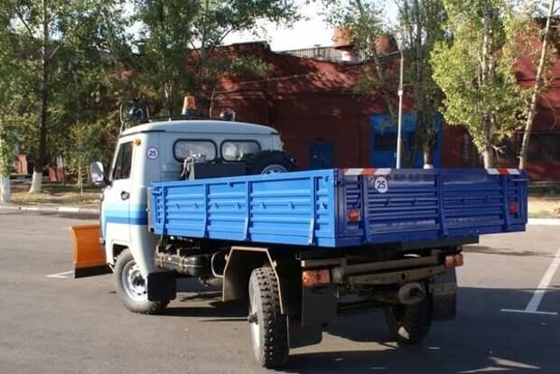 """МКМ-1903 """"УМКА"""" с грузовой платформой"""