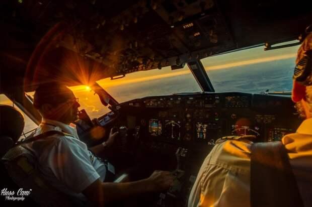 25 фотографий, сделанных пилотами из кабин самолетов