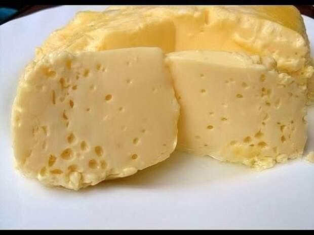 Вареный омлет в пакете, по вкусу, как сливочный сыр