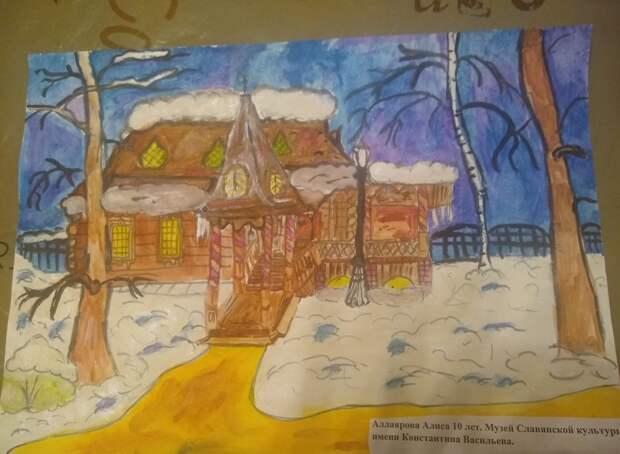 Юная художница из Лианозова победила в конкурсе «Наследие моего района»