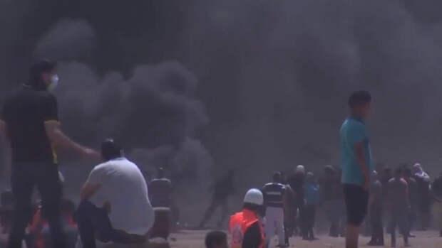 Израильские военные запустили ракеты по жилым районам сектора Газа