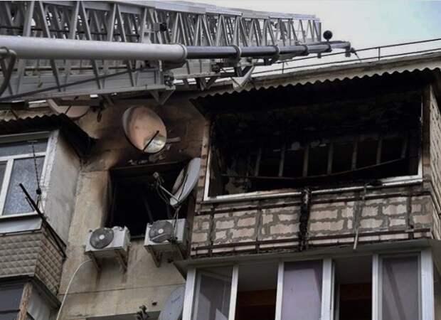 Развожаев сообщил о смерти человека на пожаре в курортной Каче
