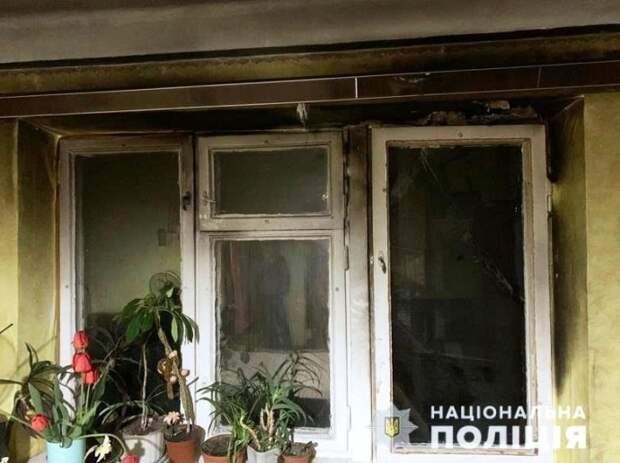 В Киеве мужчина поджег балкон квартиры