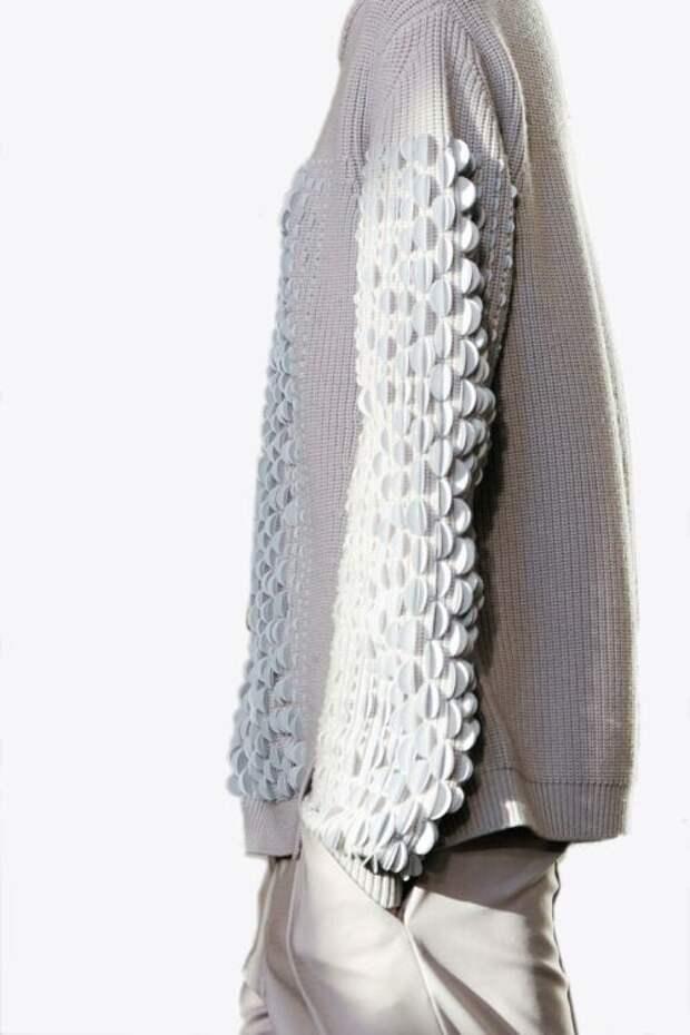 свитер своими руками нарядная вещь