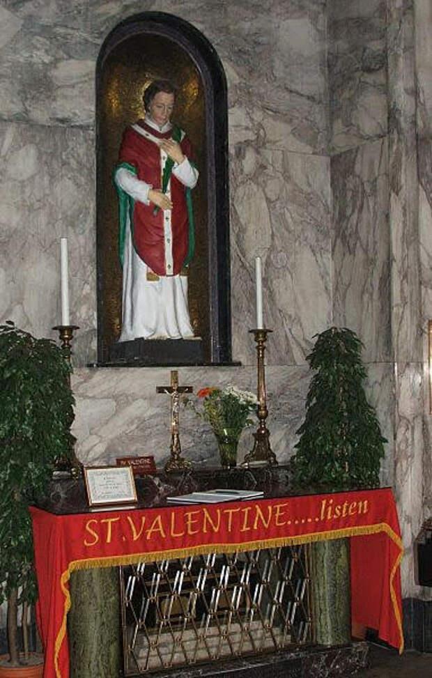 Легенды и мифы о святом Валентине