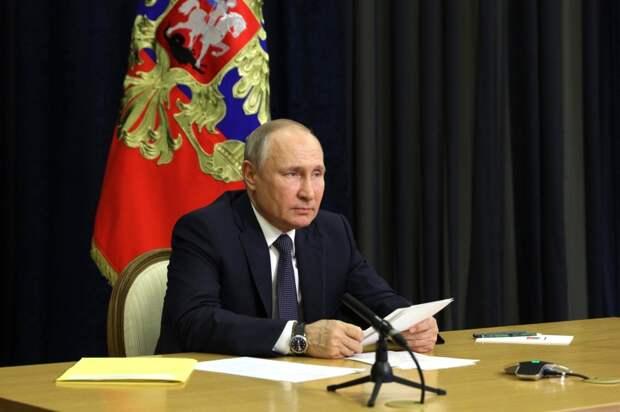 Путин дал людям волю