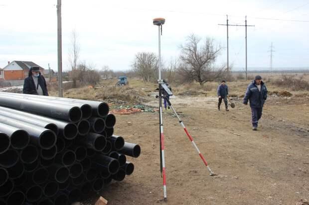 Водовод под Керчью построят за 115 млн рублей