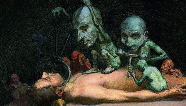 Художник, что рисует смерть: Ричард Теннант Купер и его чумные фантазии