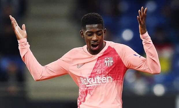 Дембеле тормозит переговоры с «Барселоной» по новому контракту