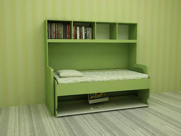 Мебель-трансформер: многофункциональные изделия для компактных помещений (108 фото)