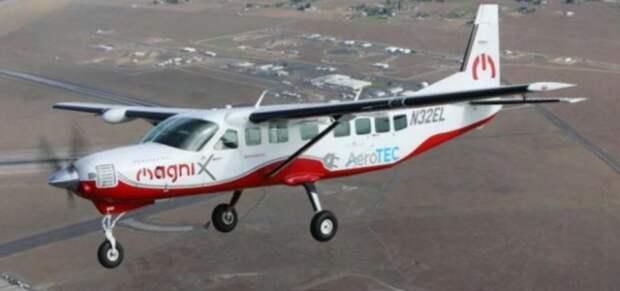 В США совершил свой первый полет коммерческий электросамолет
