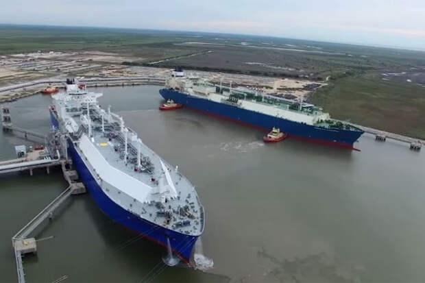 СПГ танкеры ураган