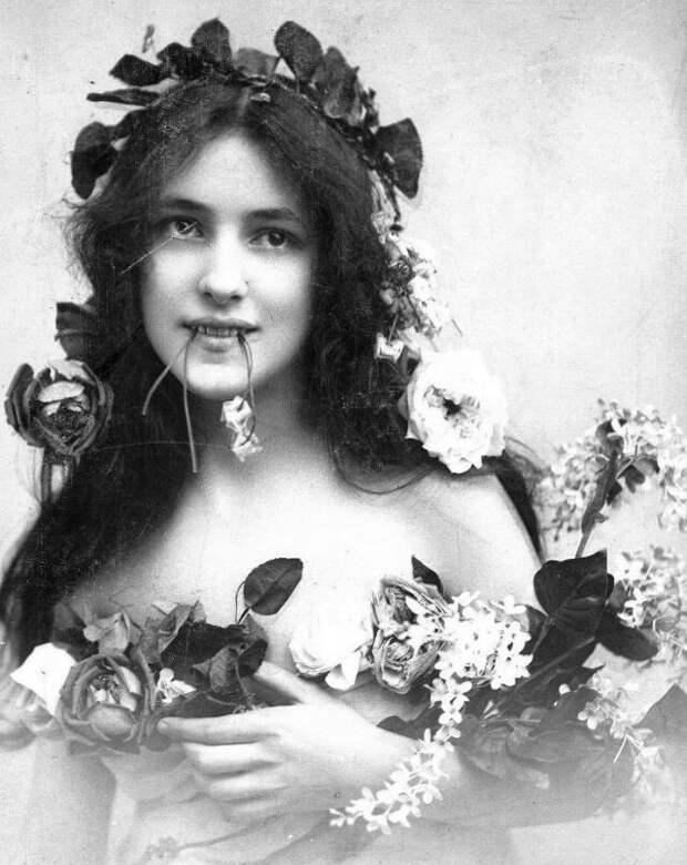 20 портретов девушки, которая установила стандарты женской красоты вначале 20 века