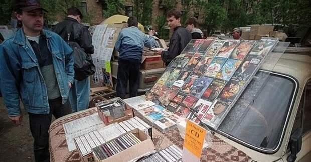 Примерка на картонке: ностальгия по рынкам-толкучкам