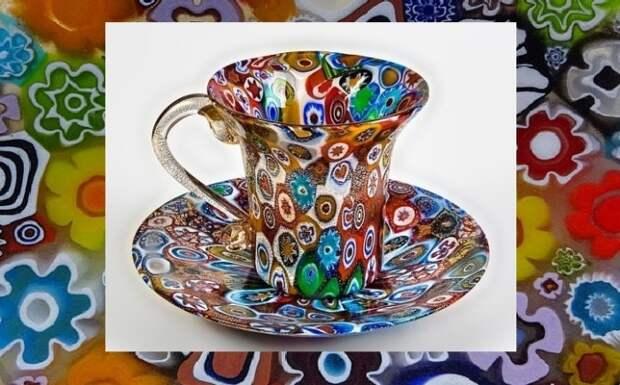 Восхитительные цветочные луга и картины из муранского стекла, которое было изобретено более двух тысяч лет тому назад.