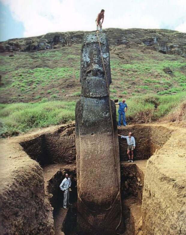 Что же, всё-таки, скрыто под головами на острове Пасхи?