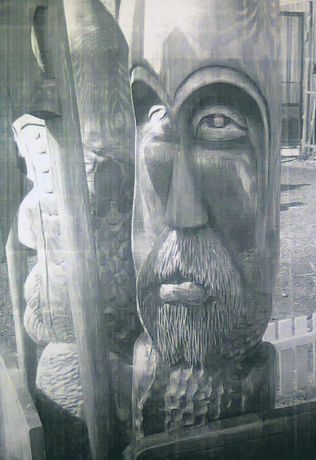 Язычники устроили капище в исправительной колонии № 12.Фото предоставлено Ярополком Витязем