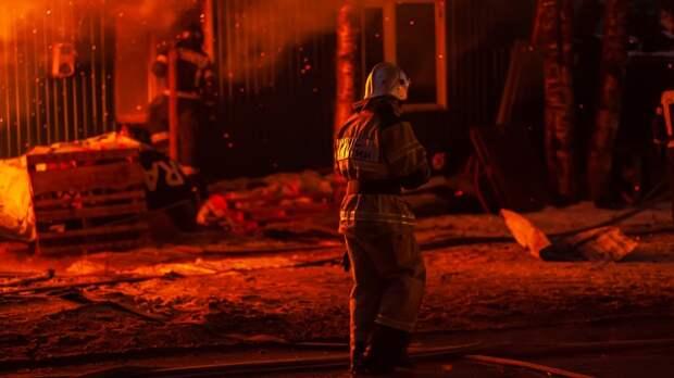 Тела двоих детей нашли после пожара в деревянном доме под Тверью