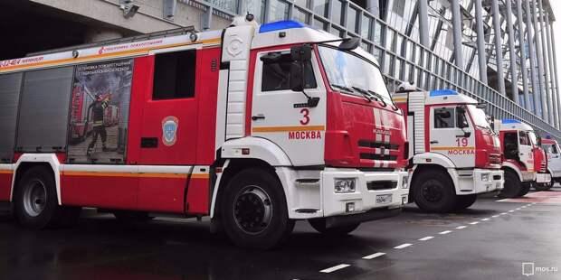 В офисном здании на Лодочной произошёл пожар