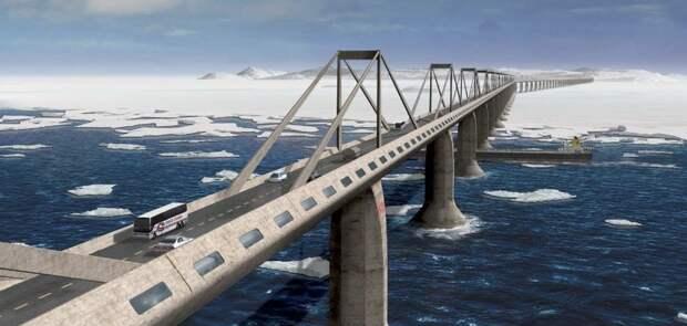 Сахалин и японский остров Хоккайдо соединит с материком мост