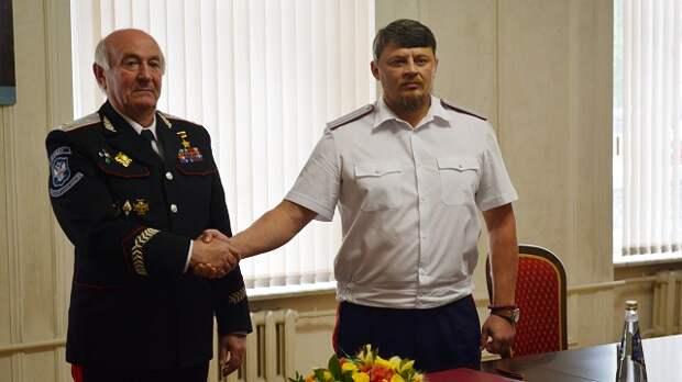 Первая ласточка: подписано соглашение о партнерстве между реестровыми казаками и общественниками