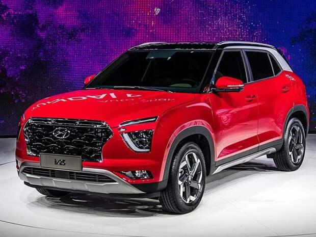 Hyundai назвал дату появления обновленной Creta в России