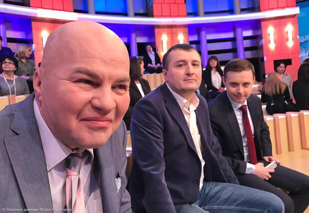 Деградация политических ток-шоу на российском телевидении