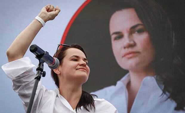 Тихановская - политик без собственного мнения